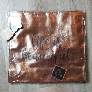 Life is beautiful tote NWT